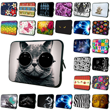 "Cute 7.0"" 8.0"" Mini PC Tablet Neoprene Bags Cases 7.7 7.9 8 8.1 Inch Waterproof Nylon Shell Bags For Xiaomi Apple Free Shipping(China)"