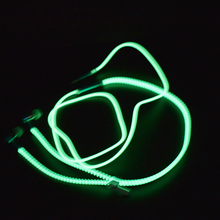 Glowing Earphone Luminous Light Metal Zipper Earbuds Glow In The Dark For Iphone Samsung MP3 with Microphone VH80