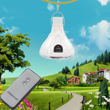 Remote control solar energy emergency lights, indoor solar light bulbs, 18LED high brightness energy-saving lamps