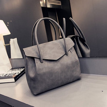 Buy 2017 Fashion All-match Vintage Solid Handbag Women Shoulder Bag Large Totes Messenger bags Women's Handbags mujer bolsos for $28.29 in AliExpress store