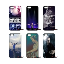 For Samsung Galaxy A3 A5 A7 A8 A9 J1 J2 J3 J5 J7 Prime 2015 2016 2017 Armin van Buuren Famous DJ Men Hard Phone Case Cover(China)