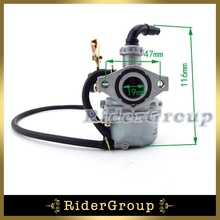 19mm Carb Keihin Cable Choke Carburetor PZ19 For Lifan YX 50cc 70cc 90cc 110cc Engine Quad ATV Go Kart Roketa SUNL Taotao Kazuma