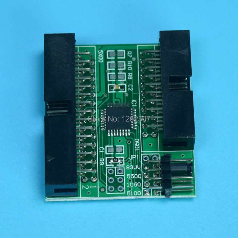 No.81 auto reset chip decoder For HP designjet 5000 5500 5100 plotters<br>