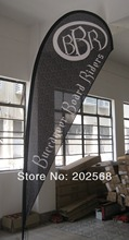 Medium Size Teardrop Flag Banner (Full set)-Free Shipping to USA,CANADA,WEST Europe and Australia(China)