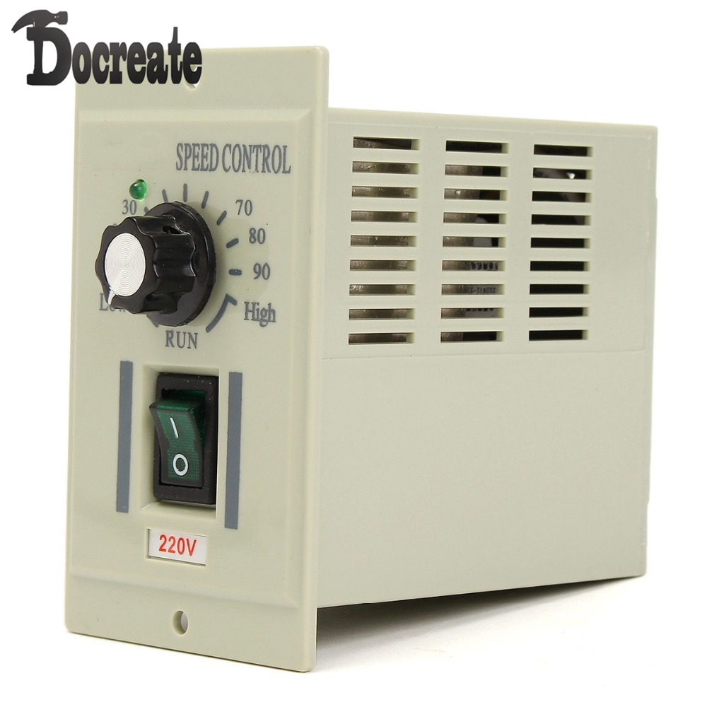 AC220V 50Hz Motor Speed Control Controller For DC 220V 500W Motor Adjustable<br>