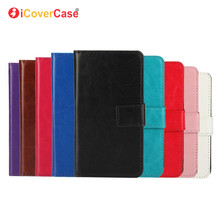 New Wallet Crazy Horse Leather Case for HTC Desire 601 Case Leather Stand leather skin Flip case for Desire 601 pouch