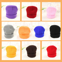 New Fashion Cute Baby Hat Beanie Boy Girl Soft Hat Winter Spring Warm Kids Knitted Crochet Cap Unisex Lovely Cap