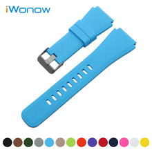 Silicone Rubber Watch Band 21mm 22mm  for Casio BEM 302 307 501 506 517 EF MTP Series Quick Release Strap Wrist Belt Bracelet