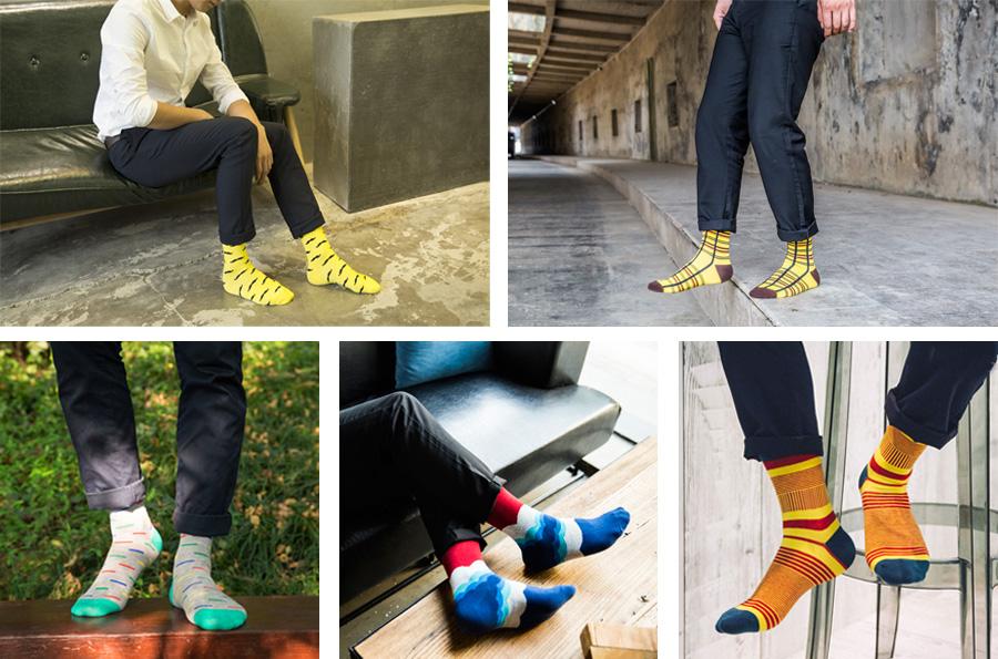 Men Sock M034-12