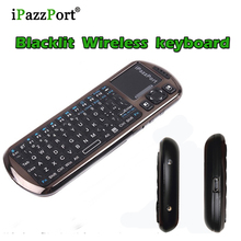 2017 New 3in1 Mini Bluetooth Wireless Keyboard with voice Touchpad backlight keyboards for mini pc smart TV support skype chat(China)