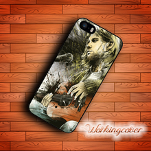 Coque Nirvana Sketch Kurt Cobain Case for iPhone 7 6 6S Plus 5S SE 5 5C 4S 4 Case Cover for iPod Touch 6 5 Case.
