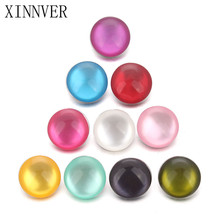 Buy 10pcs/lot Random Mixed Color Alloy Opal 18mm Snaps Buttons Fit Xinnver Snap Bracelets DIY Fashion Snap Jewelry Findings for $1.36 in AliExpress store