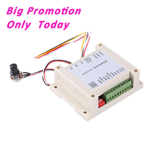 DC Motor Speed Control Brushed Motor 12V-30V 200W Brushed Forward Reverse Single Chip Micyoco Controller High Quality(China)