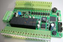 Mixed PLC control board FX1S-16MR 4PT 3AD 4DA PT100 4-channel PT100 4 analog outputs RS485 for Mitsubishi modules