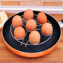 TENSKE 2Pcs Electric Pressure Cooker Steam Rack Egg Vegetable Steam Rack Stand Basket Set Egg Cooker Stand Stainless Steel Steam(China)