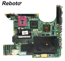 Reboto High quality For HP dv9000 DV9500 DV9700 Laptop Motherboard 447983-001 DDR2 Mainboard 100% Tested Fast Ship(China)