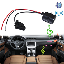 Lonleap Car Bluetooth Module MFD2 RNS RNS2 Radio Stereo Aux Cable Adapter with Filter Wireless Audio Input for VW Seat Skoda(China)