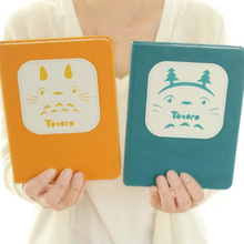 Cute Lovely Japanese Anime Cartoon My Neighbor Totoro Cloth Notebook Portable Notepad Hardcover Thick Sketchbook Diary Book