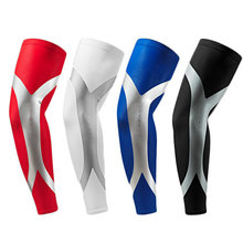 1 Pair High Thin Elastic Breathable Perspiration Sport Basketball Elbow Support Pads Elastic Arm Sleeve Soccer Elbow Protector