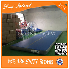 Free Shipping 15x2m Factory Price Inflatable Air Tumble Track/Used Air Track For Sale(China)