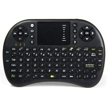 Mini Wireless Keyboard 2.4GHz English Air Mouse Keyboard Remote Control Touchpad For Android TV Box Notebook Tablet Pc