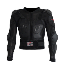 Mens Auto Motorcycle Racing Jacket Body Armor Protection Motocross Rally Spine Chest Protective Gear Protector jacket(China)