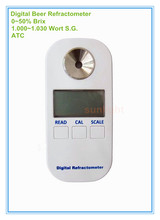 Digital Beer Brix and Wort Specific Gravity Refractometer with ATC(China)