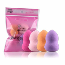 MAANGE 2017 Hot Sale 4pcs Pro Beauty Flawless Makeup  Foundation Puff Multi Shape Sponges New houppette Anne