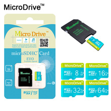 High Speed Genuine Micro SD Card 8gb/16gb/32gb/64gb/128gb Memory Card Class6-10 TF Card Internal Storage for phone(China)