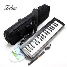Zebra Hot Musical Instruments Keyboard Instrument Piano SW-37K 37 Keys Melodica Mouth Organ With Handbag Set for Music Lovers