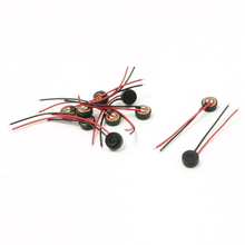 10pcs Electret Condenser MIC 4mm x 2mm for PC Phone MP3 MP4(China)