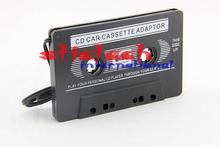 by dhl or ems 200pcs CASSETTE TAPE ADAPTER CONVERTER 3.5 MM FOR IPHONE IPOD MP3 AUX CD(China)