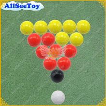 3# 5# 16 Pieces A Lot 4 Color Snook Soccer ball,Billiard ball,Snooker Football for Snookball game
