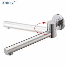 Chrome Solid Bass Female Wall Outlet Solid In Wall Mounted Bath tub Shower Mixer Faucet Spout Filler 05-065(China)