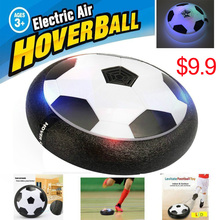 LED Light Hover Ball Air Power Soccer Ba Indoor Football Toy Multi-surface Hovering and Gliding Outdoor Toy As Christmas Gift(China)
