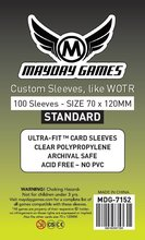 200 Sleeves Mayday Card Sleeve for 70*120 mm WOTR Card Game Protector Board Game Sleeve 7152