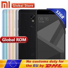 "Original Xiaomi Redmi Note 4X 4 X 3GB 32GB Mobile Phone Redmi Note4X Snapdragon S625 Octa Core Android Phone 5.5"" FHD 1920*1080(China)"