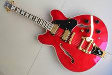 New Arrival  Cnbald 1959 Jazz ES 355 Electric Guitar With Bigsby Bridge In Red 120101