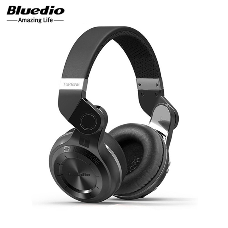 Wireless Bluetooth 4.1 Earphones &amp; Headphones Bluedio T2 Foldable Stereo Hifi Headset With Microphone For Music / Handfree Calls<br><br>Aliexpress