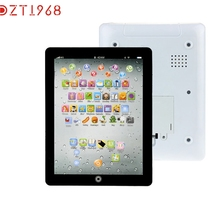 DZT1968 Modern Child Touch Type Computer Tablet English Learning Study Machine Toy For Children kids Baby Drop Shipping H21