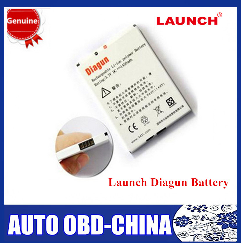 Original Launch X431 Battery Launch Diagun Battery(China)