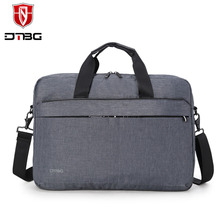 DTBG 15.6 Inch Men Women Shockproof Business Laptop Briefcase Shoulder Bag for Macbook Pro Air HP Lenovo ASUS DELL Tablet PC