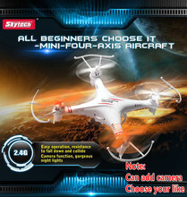 Skytech M62 M62R 2.4G 4CH 6-Axis rc helicopter Radio Control Quadcopter Toys RC Drone Quad copter  Skytech M62R can add Camera