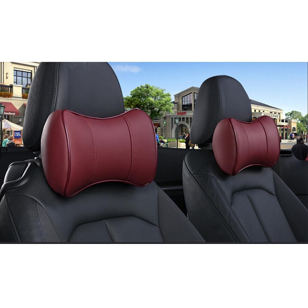 2017 newest car neck pillow soft version car auto head neck rest cushion headrest