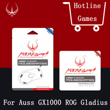 4sets/pack Hotline Games Competition Level Mouse Feet For ASUS Asus ROG Gladius GX1000 0.28mm Mouseskate with free tweezer(China)