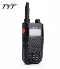 Hot TYT Walkie Talkie TH-UV6R 256CH VHF+UHF 8 Group Scrambler FM Radio Dual Band Display Portable Ham Radio