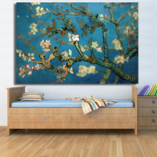 HDARTISAN Blossoming Almond oil painting on Canvas wall painting picture for Living Room HD1680 No framed Home Decor Wall Art