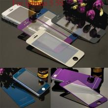 Colorful Tempered Glass Film For font b iphone b font 5 5s 5se 6 font b