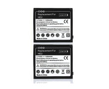 2X Phone Replacement 1350mAh Battery Batteries For HTC HD2 Touch HD2 T8585 HTC LEO