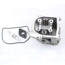 Buy Scooter Moped ATV Go Kart 50cc 60cc 80cc 100cc GY6 Engine Parts 139QMB Cylinder Head Valves 39mm 44mm 47mm 50mm 52mm for $32.99 in AliExpress store